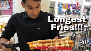 Vlog#6. FOOD TRIP I KARIKARI JYAGA I FOOT LONG POTATO FRIES