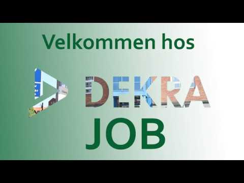 DEKRA Job video - Jobcenter