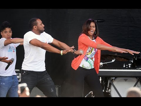 First Lady wows with Uptown Funk dance