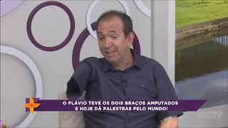MIX PALESTRAS l História de superação l Flávio Peralta