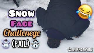 Snow Face Challenge (EPIC FAIL!)