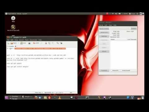 Install Mangler on Ubuntu 11.04