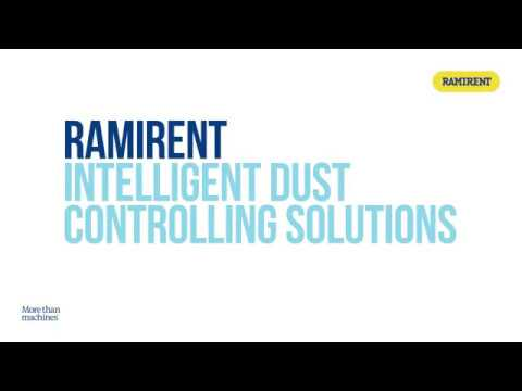 Ramirent intelligent dust controlling solutions