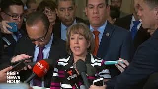 WATCH: Congressional Hispanic Caucus speaks after meeting with White House Chief of Staff