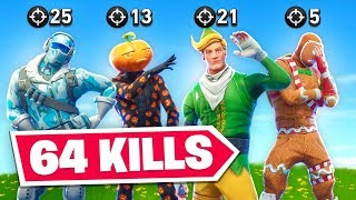 We Broke The Fortnite Elimination Record? (64 Kills)