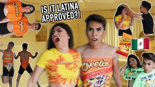 Trying ON The HOT CHEETO Collection.. Aiii no.   Louie's Life