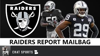Raiders Rumors: 2020 Training Camp, Cory Littleton Helping Lamarcus Joyner, Trades, NFL Free Agency