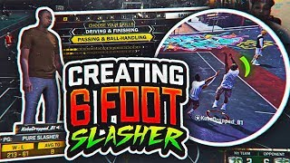 HILARIOUS TINY 6 FOOT SLASHER! MOST EXCITING BUILD IN NBA 2K18