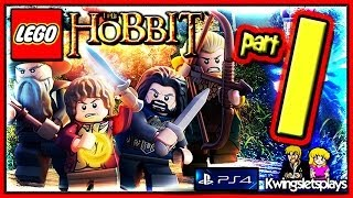 Lego the Hobbit - Walkthrough Part 1 Greatest Kingdom in Middle Earth Co-op (PS4)
