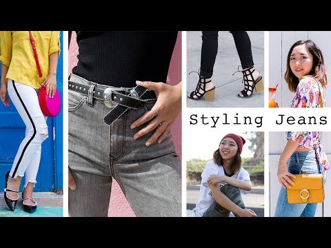 Styling 5 Different Jeans | Denim Lookbook 2018