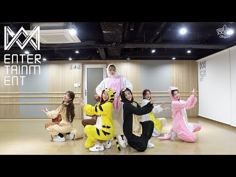 오마이걸(OH MY GIRL)_불꽃놀이 (Remember Me)(Dance Practice Video)(Pajama ver.)