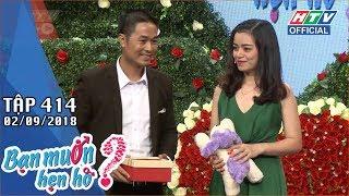 HTV BẠN MUỐN HẸN HÒ | Một tuần mình hẹn nhau 6 ngày được không em? | BMHH #414 FULL | 2/9/2018
