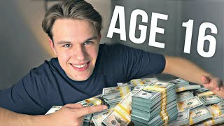 How I Earned $100,000 at Age 16