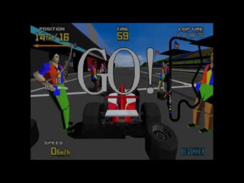 PCSX2 win10x64 probando · testing Virtua Racing Flat Out