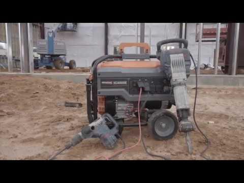 Generac Power Systems - 6500 watt XC Series Portable