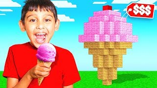 Whatever You Build, I'll Buy It Challenge - Minecraft