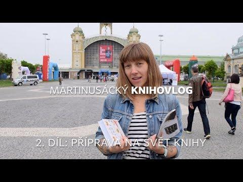 Knihovlog: Příprava na Svět knihy | Martinus.cz