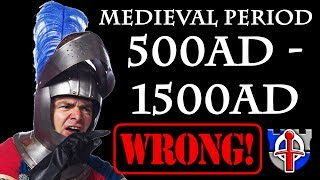 When did the medieval period really happen?