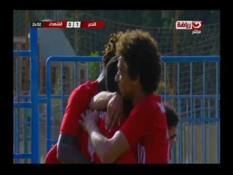 الممتاز ب |  هدف النصر الأول فى مرمي الشهداء