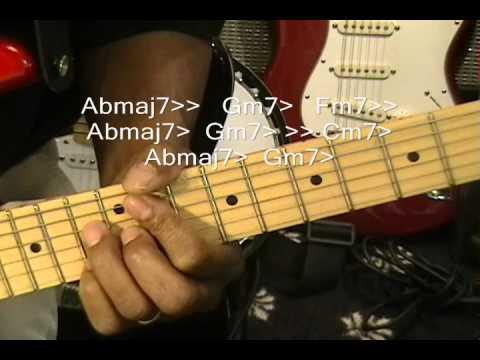 Baixar Bruno Mars TREASURE Electric Guitar Lesson Disco Style R&B Cover Tutorial Instruction