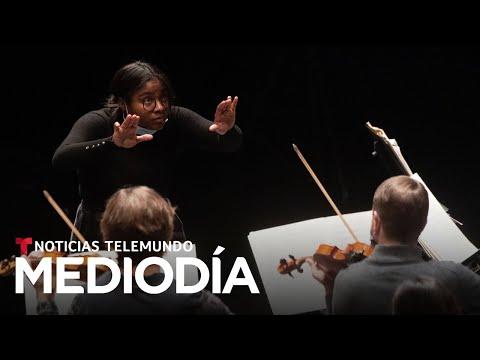 Venezolana se convierte en la primera directora negra de orquestas de música clásica en Francia