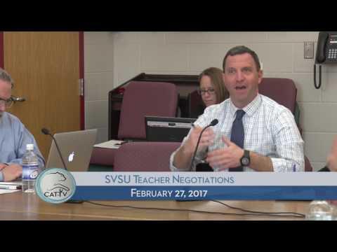 SVSU Teacher Negotiations - 2/27/17
