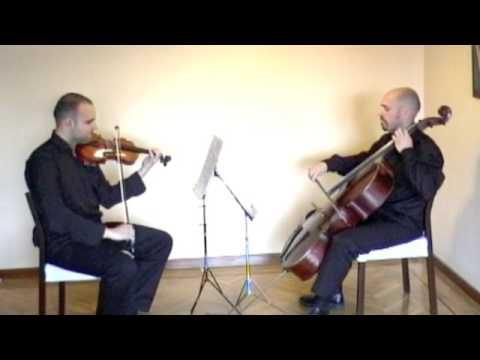 Duo Capricho plays Marcha de Haendel