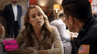 Esperanza Tries to Make Peace with Eddie | Tyler Perry's If Loving You Is Wrong | OWN