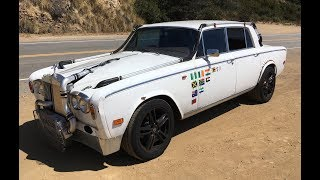 "Turbocharged, Manual 1978 ""Trolls Royce"" Silver Shadow II – One Take"