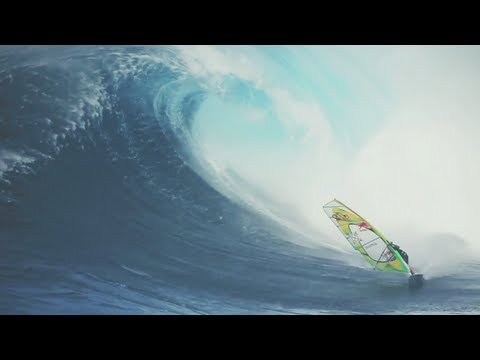 Extreme Windsurfing at Jaws - 2012