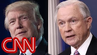 Trump: I'm disappointed in Jeff Sessions