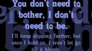 Bother - Stonesour - Lyrics