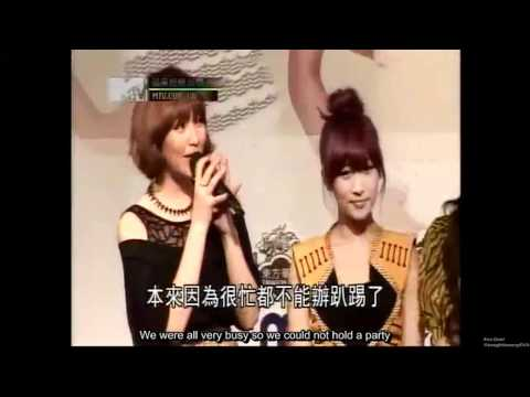 120330 KARA Press Conference in Taiwan - Mentioned BEAST Junhyung