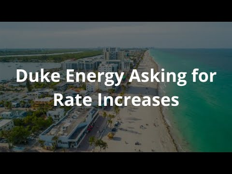 Florida - Duke Energy Pushing Forward Another Electrical Rate Increase
