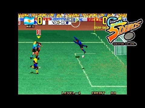 """SUPER SIDEKICKS 3 (SOUTH AMERICA TOURNAMENT) - """"CON 5 DUROS"""" Episodio 760 (+FIFA 2004 GBA) (1cc)"""