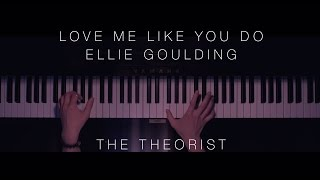 Ellie Goulding - Love Me Like You Do | The Theorist Piano Cover