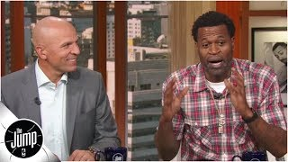 Stephen Jackson tells his Suns audition story, where he 'served up' Cedric Ceballos | The Jump