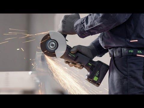 Festool AGC18-125 Li 5,2 EB-Plus 18v Angle Grinder 2x 5.2ah Batteries 575345