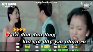 Karaoke Tam giác tinh . Thiếu giọng nam