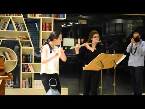 Антония Мирчева и Мария-Тереза Карагеоргиева с класически изпълнения за две флейти