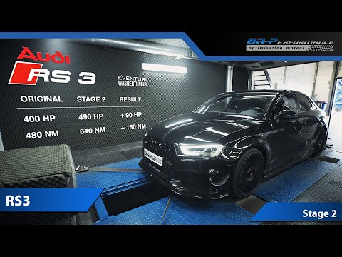 Audi RS3 Stage 2 By BR-Performance / Wagner Tuning Intercooler & Eventuri Air intake
