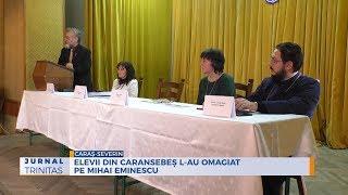 Elevii din Caransebes l-au omagiat pe Mihai Eminescu