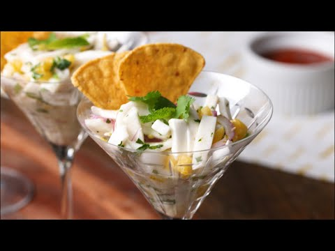 How To Make Vegetarian Ceviche With Coconut ?Tasty