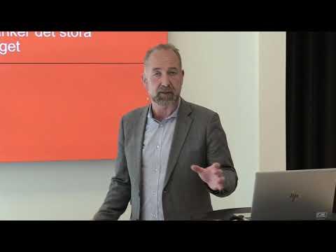 Per Arne Molin, PWC om cyber- och informationssäkerhet för stora företag och för startups