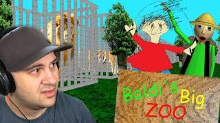 Baldi and Playtime open a zoo? (This seems like a bad idea...) | Baldi's Basics