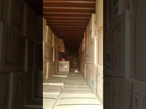 Footage from one of the Lutheran World Relief shipping containers recovered from the port of Beirut.