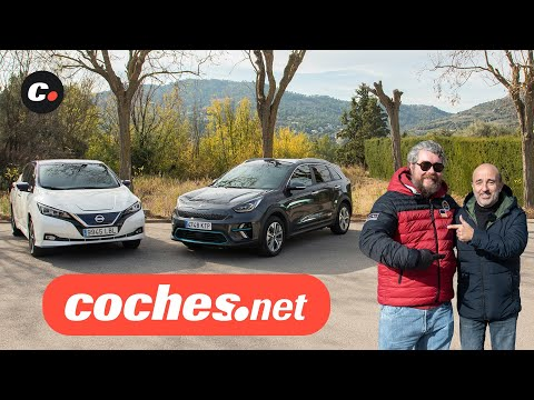 Kia e-Niro vs Nissan Leaf e+ 2020 | Prueba / Review en español | coches eléctricos | coches.net