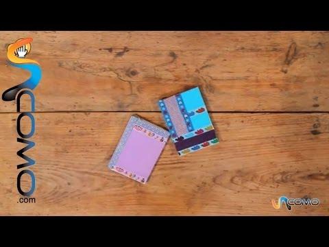 Decorar cuadernos con washitape es facilísimo