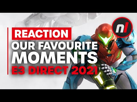 IT'S CALLED DREAD - Our Favourite Moments from the E3 Nintendo Direct | 6.15.2021