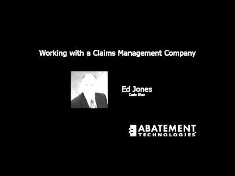 Working with a Claims Management Company
